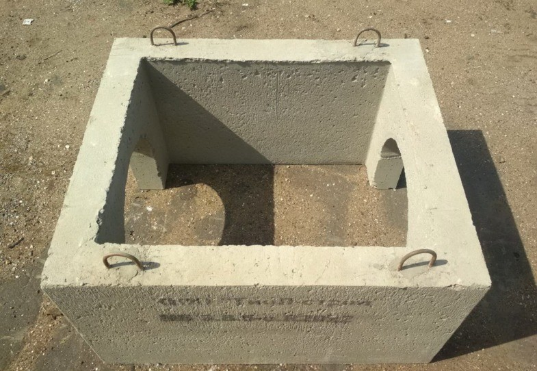 Дождеприемник из бетона пропарка бетон